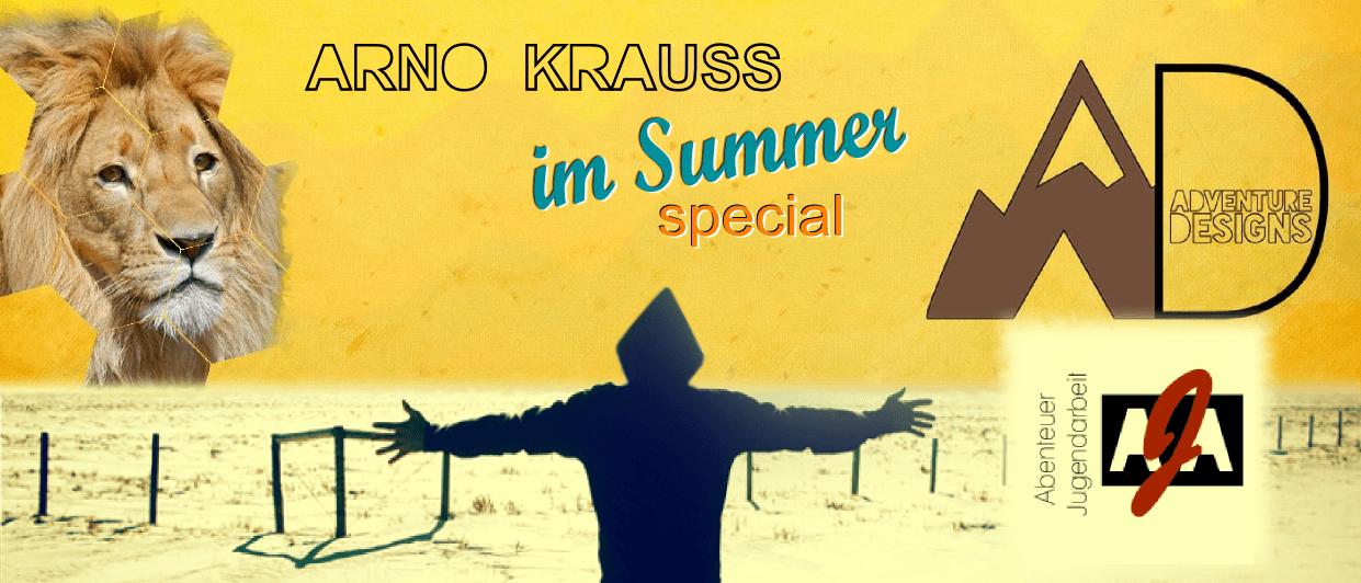 ARNO KRAUSS im Summer-special Interview